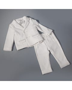 Mayoral Boys 4Pc Suit Set | Christening Outfits For Babies Style White