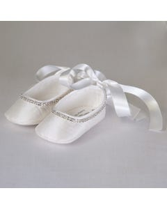 SILK BALLERINA SHOES
