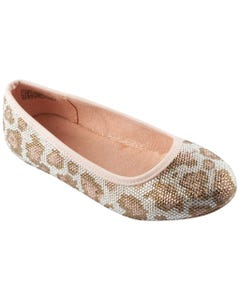 SHOE ROVER TEANA PINK LEOPARD PRINT NO STRAP