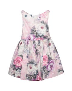 Jolene Girls Lilac Floral Dress Size 2-12 | PA283T Multi