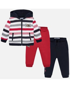 Mayoral Boys Tracksuit Set Size 6M-36M | 2844 076 Red