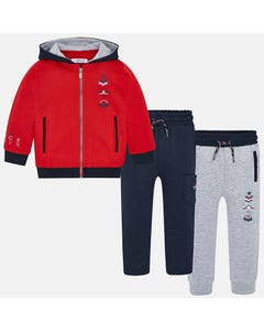 Mayoral Boys 3pc Tracksuit Size 2-9 | 4810 Red