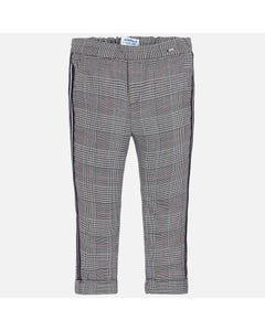 Mayoral Girls Navy Plaid Pants Size 2-9 | 4504 Navy