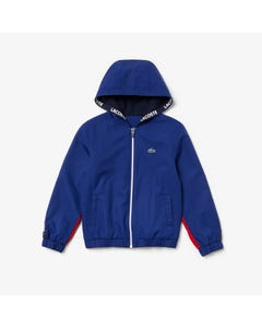 Lacoste Boys Fall Jacket Size 4-16 | BJ9483 Blue