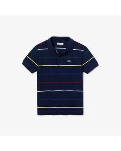 Lacoste Boys Short Sleeve Polo Size 2-14 | PJ8336 Navy