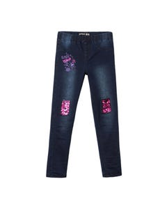 Desigual Girls Denim Fuschia Pants Size 4-12 | MARTIN Denim