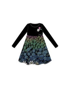 Desigual Girls Tulle Dress Size 6-12 | OAXACA Black