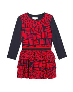 Catimini Girls 2Pc Dress & T-Shirt Set Size 2-10 | CP30225 36 Red