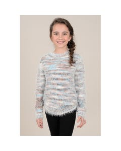 Mini Molly Girls Multi Colored Sweater Size 6-14 | MMF103A19 Multi