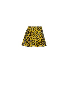 Le Chic  Girls Leopard Spot Skirt Size 5-14 | C908 5708 Gold