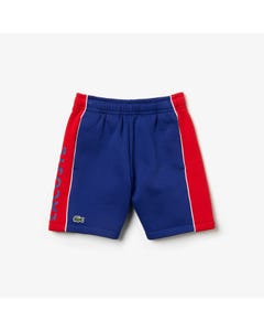 Lacoste Boys Striped Shorts Size 4-16 | GJ 9474 Blue