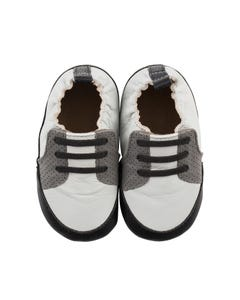 Robeez Boys Trendy Trainer Baby Shoes Size 6m-24m | R9224112 Grey