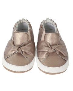 Robeez Girls Mini Shoes Size 6m   R81132312 Brown