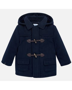Mayoral Boys Hooded Trench Coat Size 9m-36m | 2453 Navy