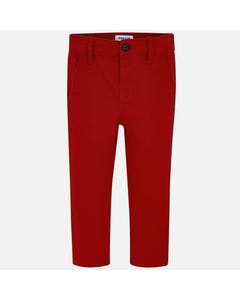 Mayoral Boys Chino Pants Size 2-9 | 513 Red