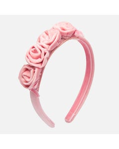 Mayoral Girls Rose Headband Size 6m | 10653 061 Pink