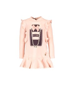 Le Chic Girls Pink Burgundy Dress Size 3m-2 | C909 7872 211 Pink