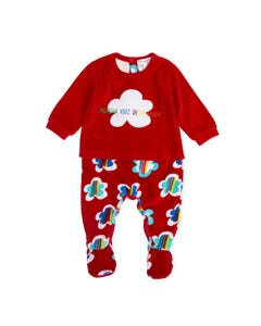 Agatha Ruiz de la Prada Girls Sleeper Size 1m-12m | 8193W19 ROO Red