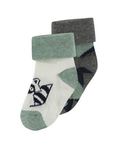 Noppies Boys 2Pack Socks Size 3m-12m | 94644 Multi