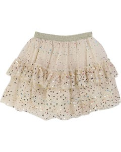 Billieblush Girls Cream Tulle Skirt Size 2-12 | U13225 Cream