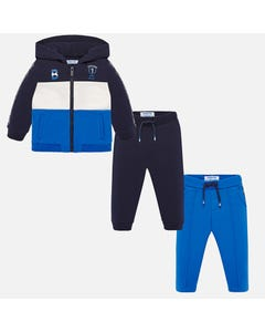 Mayoral Boys 3Pc Tracksuit Size 6m-36m | 2842 052 Multi