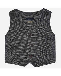 Mayoral Boys Black Vest Size 6m-36m | 2327 075 Black