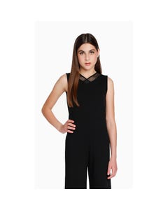 Sally Miller Girls Black Jumpsuit Size 8-14 | 3354 Black