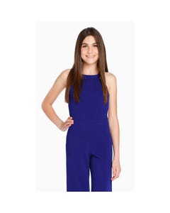 Sally Miller Girls Blue Jumpsuit Size 8-14 | 33380 Blue