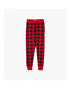 Hatley Girls Womens Red And Black Sleep Leggings Size XS-XL | PA5PLAD002 Plaid