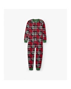 Hatley Unisex Kids Union Suit Size 4-14 | US1WIM0209 Plaid
