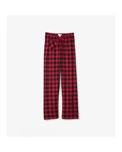 Hatley Girls Womens Red And Black Pants Size XS-XL | PA2PLAD002 Plaid