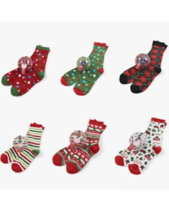 Hatley Unisex Adult Sock Ornaments Size One Size | BA7ARGL001 Multi