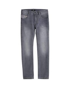 JEAN GREY DENIM SUPER SLIM FIT