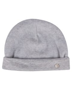 Patachou Boys Pullon Hat Grey Velour Size T1 | Toddler Hats 1033002 Grey