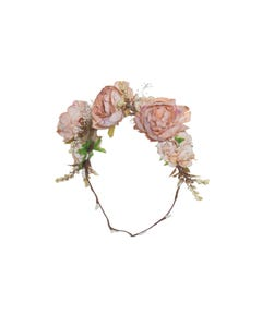 Patachou Girls Wreath Autumn Flowers Pale Pink Size OS | Baby Girl Hair Accessories Online 3133515 Pink