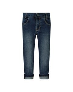 Hugo Boss Boys Jean Pant Regular Fit Size 6m-3 | Baby Shorts 4382 Denim