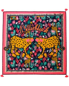 Billieblush Girls Scarf Navy Multi Print Size OS | Girls Scarves 10362 Multi