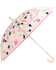 Billieblush Girls Umbrella Multi Print On Clear Size OS | Childrens Clothes And Accessories 10373 Multi