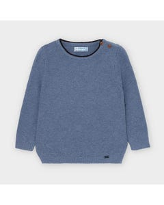 Mayoral Boys Sweater Blue Long Sleeve Size 6m-36m | Infant Sweaters 309 Blue