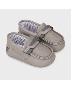 Mayoral Boys Shoe Graphite Slip On Moccasins Size 15-19 | Baby Shoes 9330 Grey