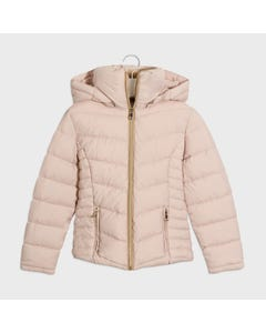 Mayoral Girls Jacket Beige Removable Hood Size 8-18 | Infant Girls Outerwear 416 Beige