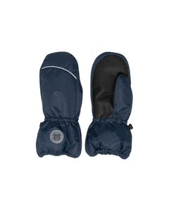 Deux par Deux Unisex Mitten Navy Winter Waterproof Size 3-14 | Toddler Gloves 10XM202 Navy