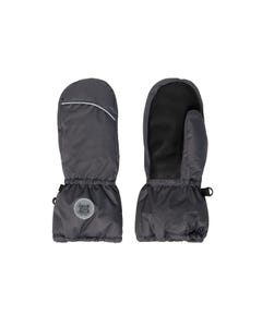 Deux par Deux Unisex Mitten Grey Waterproof Winter Size 3-14 | Baby Gloves 10XM202 Grey