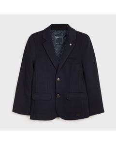 Mayoral Boys Blazer Navy Dressy Size 8-18 | Junior Formal Wear 7462 Navy