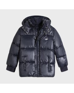 Mayoral Boys Jacket Navy Hooded Winter Size 8-18 | Baby Coats 7467 Navy
