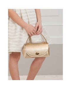Abel & lula Girls Handbag Gold Imitation Leather Size OS | Childrens Purses 5932 Gold