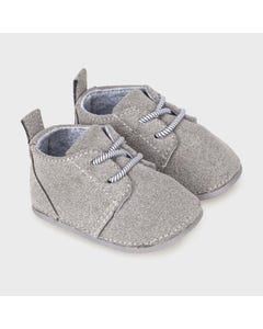 Mayoral Boys Bootie Grey Suede Imitation Laces Size 15-19 | Shoes For Infants 9331 Grey