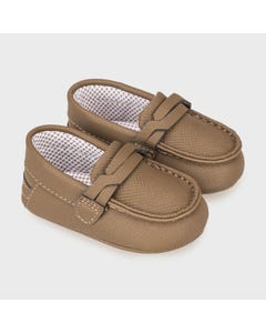 Mayoral Boys Moccasins Chocolate Slip On Size 15-19 | Baby Shoes 9330 Brown