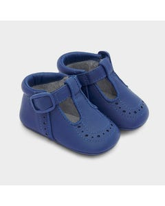 Mayoral Boys Shoe Blueberry Velcro Strap Size 15-19 | Shoes For Babies 9332 Blue