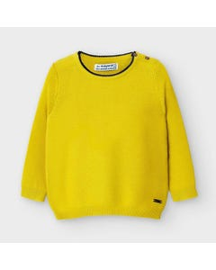 Mayoral Boys Sweater Yellow Knit Size 6m-36m | Toddler Sweaters 309 Yellow